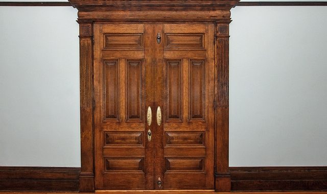 English Oak Doors to Living Room - Copy