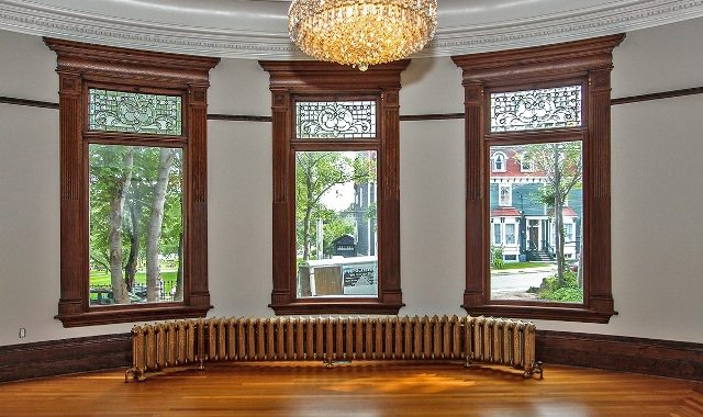 Living Room with original woodwork - Copy