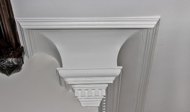 Restored Original Plaster Mouldings
