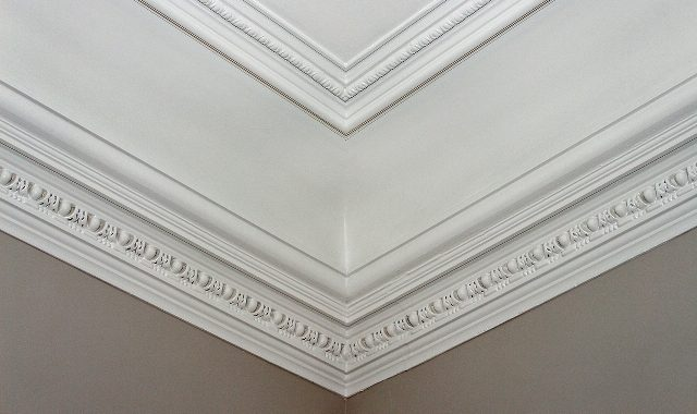 Restored Original Plastered Mouldings
